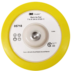 3M 05718 Perfect-It 7 Inch Rotary Backing Plate
