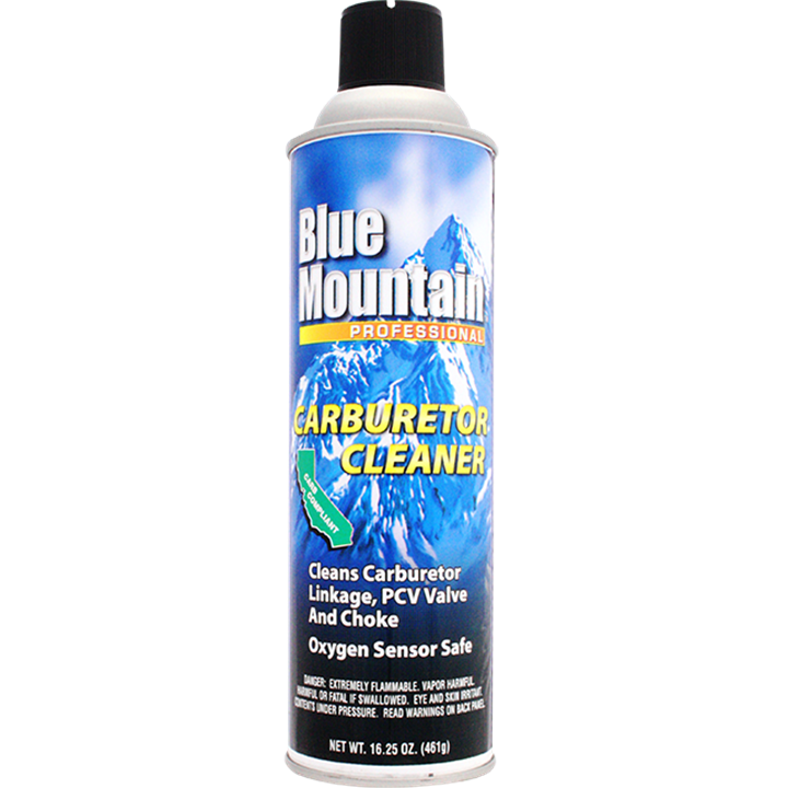 Blue Mountain Carburetor Cleaner 16 25 Oz 461g Smitsgroup