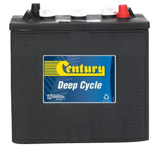 CENTURY CY245-6 245 AH 6 VOLT BATTERY #641110 - SmitsGroup