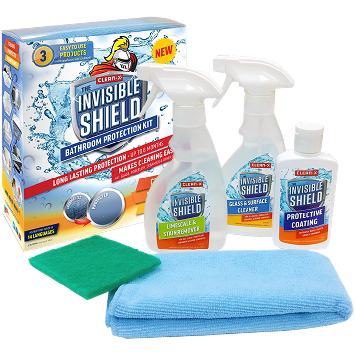 Clean X Invisible Shield Bathroom Protection Kit Smitsgroup